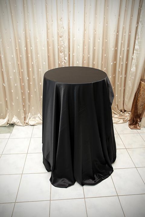 superior Black Satin Tablecloths Part - 9: Black Satin Tablecloth