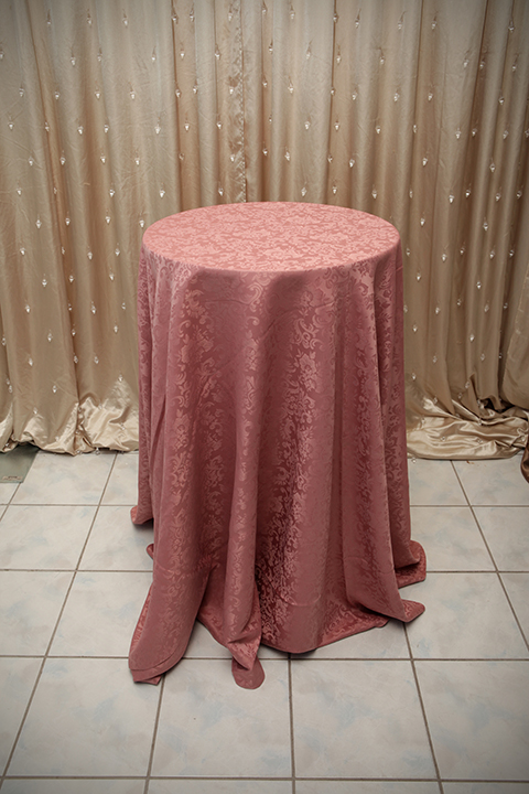 Dusty Rose Tablecloth