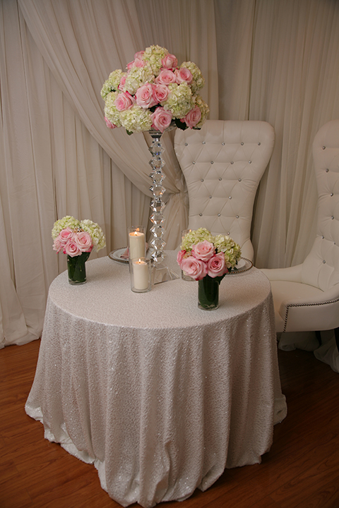 Ivory Sequence Tablecloth