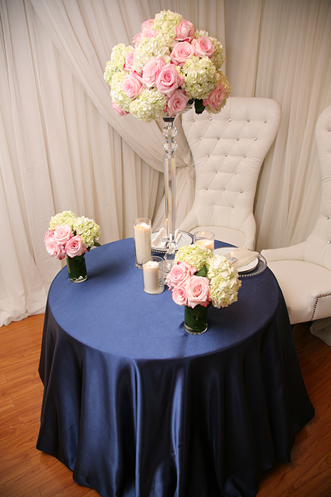 Navy Blue Satin Tablecloth Right Choice Linen