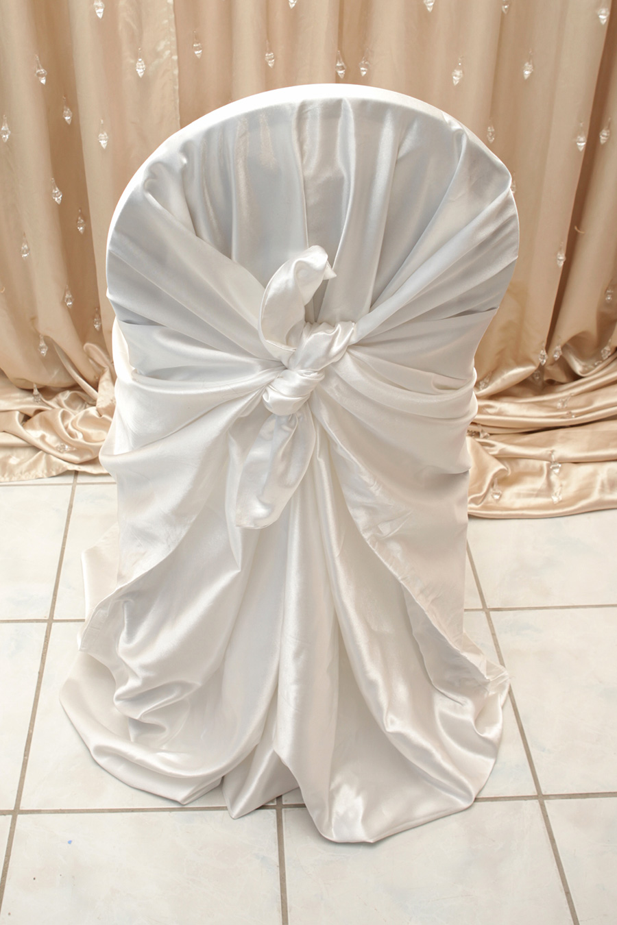 white satin chair cover right choice linen